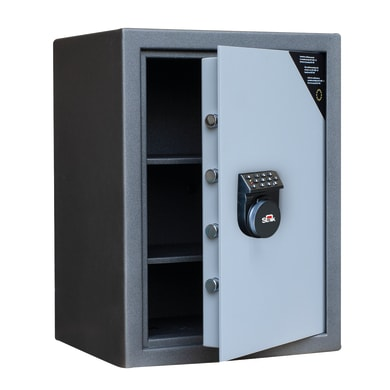 Cassaforte con codice elettronico STARK FS65MH fissaggio a pavimento L 49 x P 41 x H 66 cm