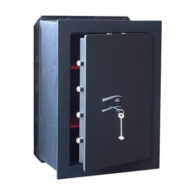 Cassaforte a chiave STARK 407NPP da murare L45.4 x P28 x H62.9 cm