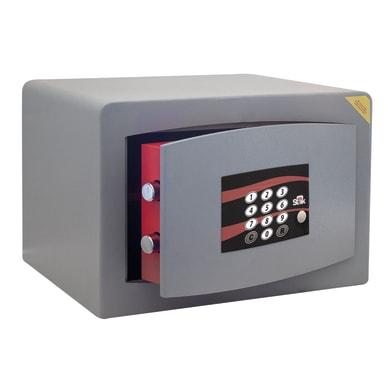 Cassaforte con codice elettronico STARK N3851A da appoggio/da mobile con fissaggio L 28 x P 20 x H 18 cm
