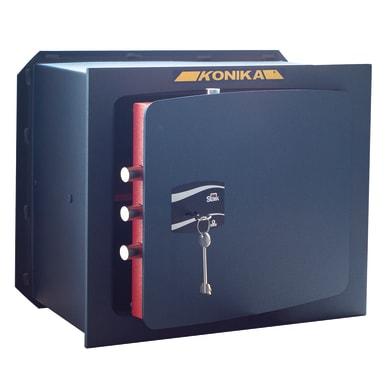 Cassaforte a chiave STARK 1205 da murare L49 x P19.5 x H32 cm