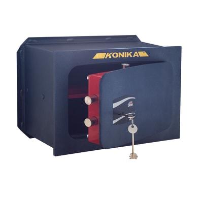 Cassaforte a chiave STARK 1204P da murare L42 x P24 x H28 cm