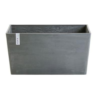 Fioriera Paris 100 cm - Grey ECOPOTS in composito colore Grey H 50 cm, L 99 x P 100 cm
