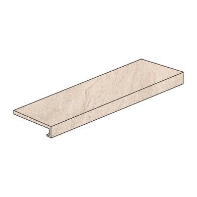 Gradino costa retta Patagonia sand H 4 x L 60 cm beige