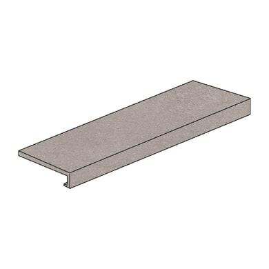 Gradino costa retta Patagonia grey H 4 x L 60 cm grigio