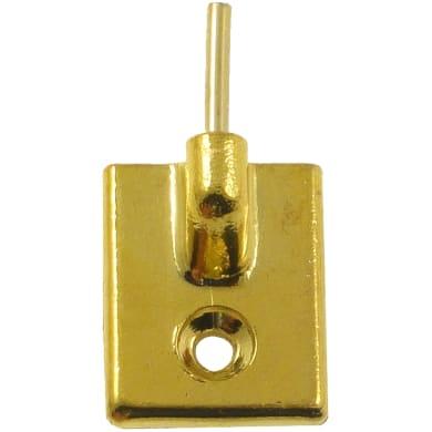 Adattatore metallo L 27 cm brunite