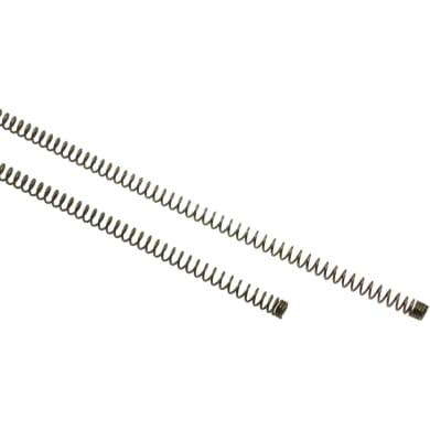 Supporto adesivo Ø8mm in metallo oro satinato, 4 pezzi