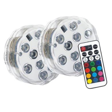 Lampada solare 2 BOLLE GALLEGGIANTI C/TEL IP65 , luce rgb multicolore , RVB Non applicabileLM IP68 YANTEC