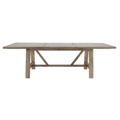 Tavolo da giardino allungabile  rettangolare con piano in ceramica L 178 x P 105,5 cm