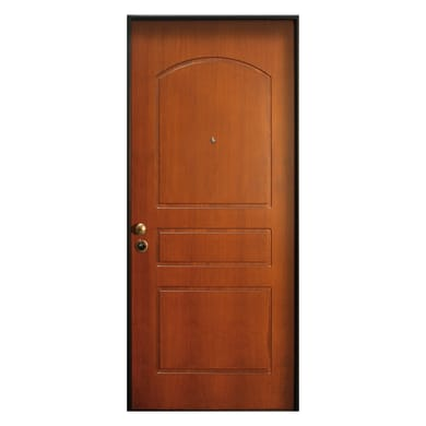 Porta blindata Better noce L 80 x H 210 cm sinistra