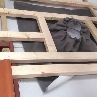 Collare impermeabilizzante VELUX BFX 0K14 1000 L 35 x H 35 cm grigio
