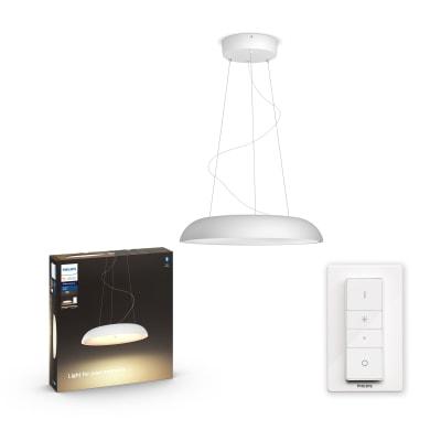 Lampadario Design Amaze + Dimmer Switch LED integrato bianco, in metallo, D. 43.4 cm, L. 150 cm, PHILIPS HUE