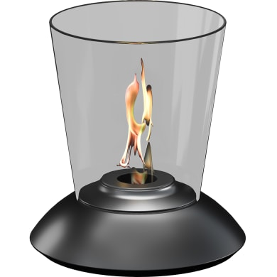 Stufa a bioetanolo programmabile RUBY nero