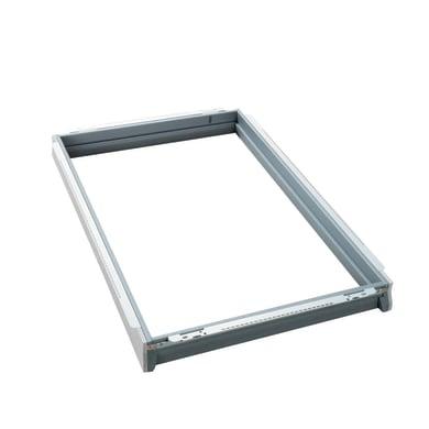 Cornice isolante VELUX BDX UK04 0000 L 134 x H 98 cm grigio