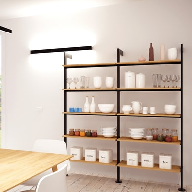 Libreria Giostra L 180 x P 40 x H 208 cm