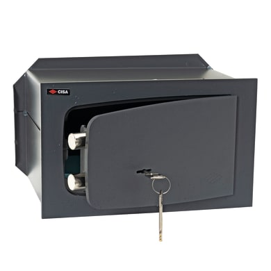 Cassaforte a chiave CISA C Key da murare L31 x P14.5 x H19 cm
