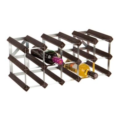 Portabottiglie 15 posti L 52.3 x H 23.3 x Sp 23.3 cm
