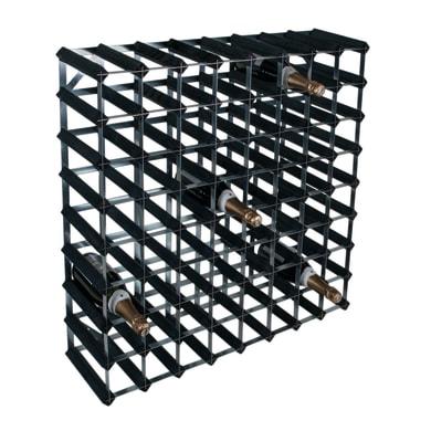 Portabottiglie 72 posti L 84.8 x H 85.7 x Sp 25.4 cm