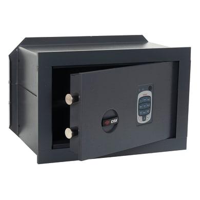 Cassaforte con codice elettronico CISA DGT Vision da murare L 36 x P 25 x H 24 cm