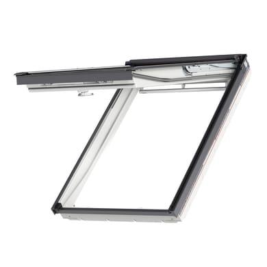 Finestra da tetto (faccia inclinata) VELUX GPU SK06 0068 manuale L 114 x H 118 cm bianco