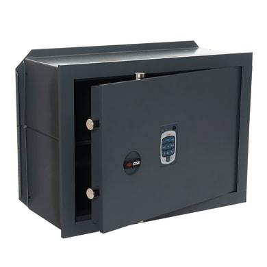 Cassaforte con codice elettronico CISA DGT Vision da murare L 49 x P 20 x H 36 cm