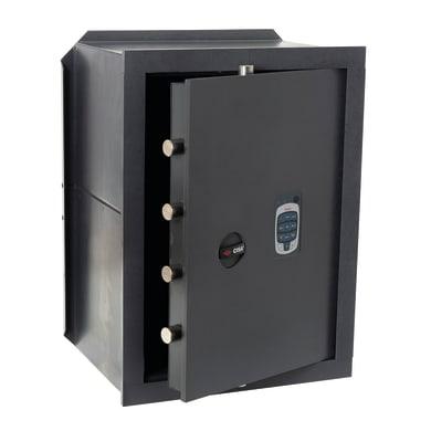 Cassaforte con codice elettronico CISA DGT Vision da murare L 36 x P 20 x H 49 cm