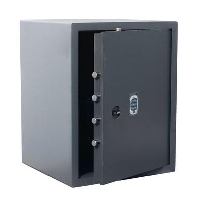 Cassaforte con codice elettronico CISA DGT Vision da mobile con fissaggio L 49 x P 45 x H 62 cm