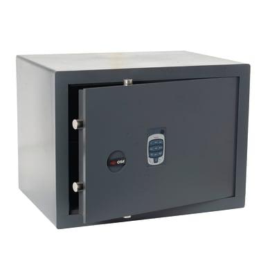 Cassaforte con codice elettronico CISA DGT Vision da mobile con fissaggio L 49 x P 35 x H 36 cm