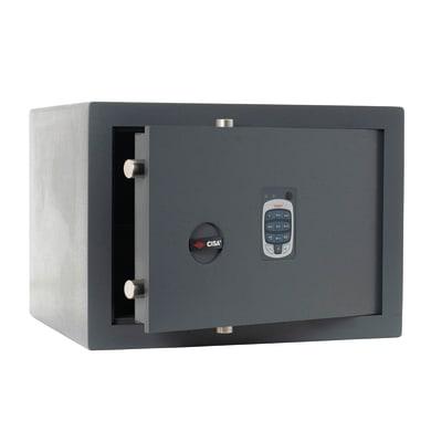 Cassaforte con codice elettronico CISA DGT Vision da mobile con fissaggio L 42 x P 35 x H 30 cm