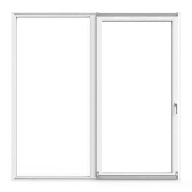 Portafinestra in pvc bianco L 220 x H 220 cm