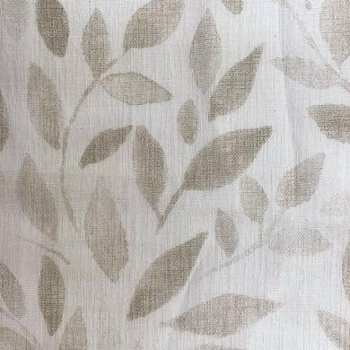 Tessuto al taglio Foglie grigio 90 cm