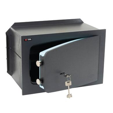 Cassaforte a chiave CISA C Key da murare L36 x P14.5 x H24 cm