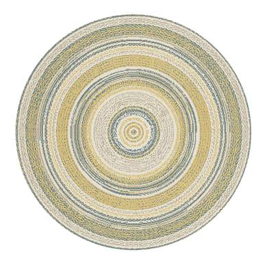 Tappeto per esterno Star in 100% polipropilene, marrone, D 120