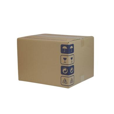 Set di 15 pezzi, Scatola da imballaggio 2 onde H 31 x L 47 x P 37 cm