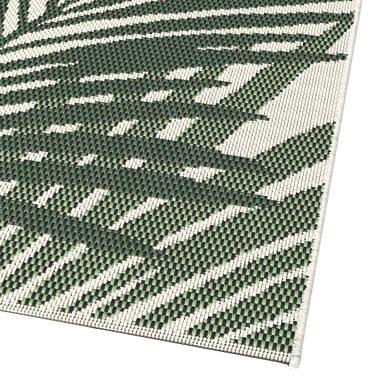 Tappeto per esterno Star in 100% polipropilene, verde, 120x170