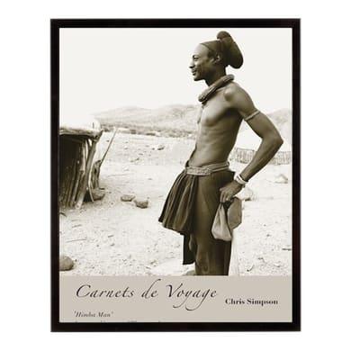 Stampa incorniciata Himba man 30.7x40.7 cm