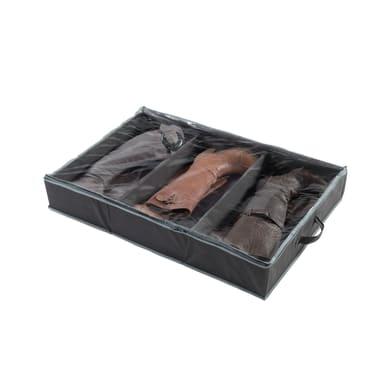 Custodia per vestiti grigio L 90 x Sp 60 x H 15 cm