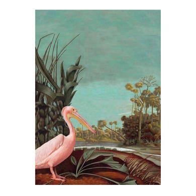 Pannello decorativo ESTA Pellicano tropicale 200x280 cm