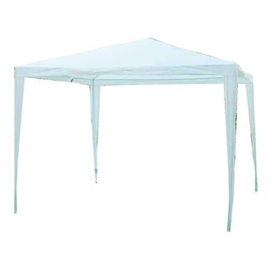 Gazebo ferro bianco L 300 cm x P 300 cm, H 2.53 m