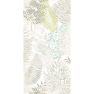 Tessuto al taglio Ombrage bianco 150 cm