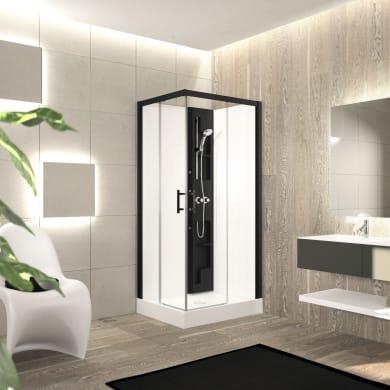 Cabina doccia senza tetto quadrato PERLA 80 x 80 cm