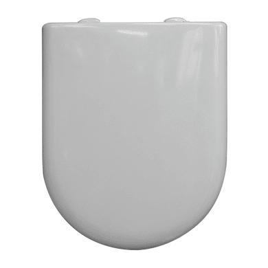 Copriwater ovale Dedicato per serie sanitari Luna 2 termoindurente bianco