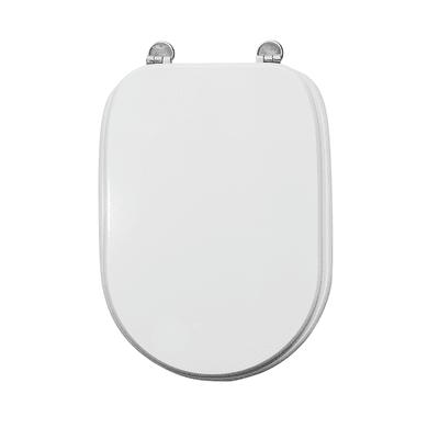 Copriwater quadrato Quadrato Universale Tesi mdf bianco