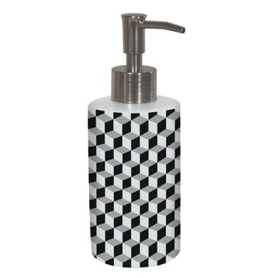 Dispenser sapone Dispenser sapone ceramica optical nero / bianco