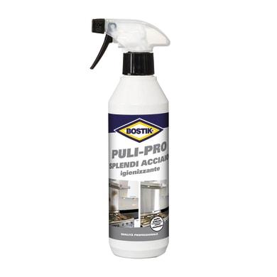 Igienizzante BOSTIK PULI-PRO Splendi Acciaio 500ml per cucina litri