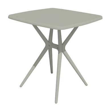 Tavolo da giardino quadrato TAVOLO con piano in polipropilene L 70 x P 70 cm
