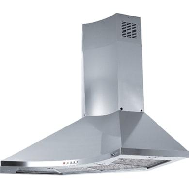 Cappa ad angolo FDPA 904 XS LED FRANKE  grigio inox L 90 cm