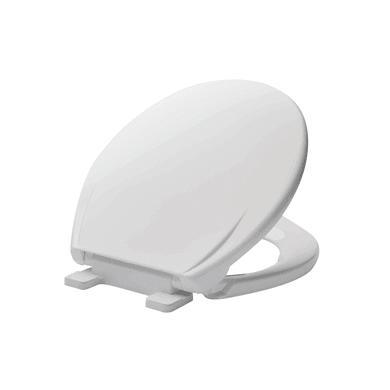Copriwater ovale Ovale Universale Airbag plastica termoflessibile bianco
