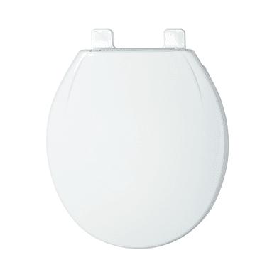 Copriwater ovale Universale Airbag plastica termoflessibile bianco