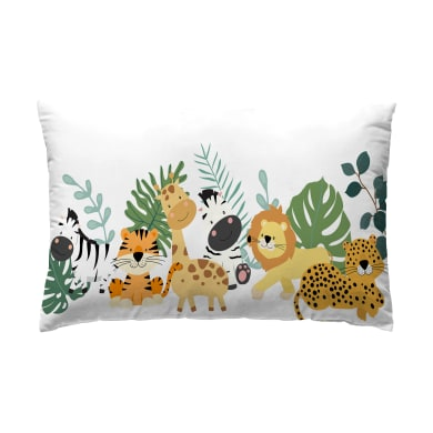 Cuscino INSPIRE Safari multicolore 30x50 cm