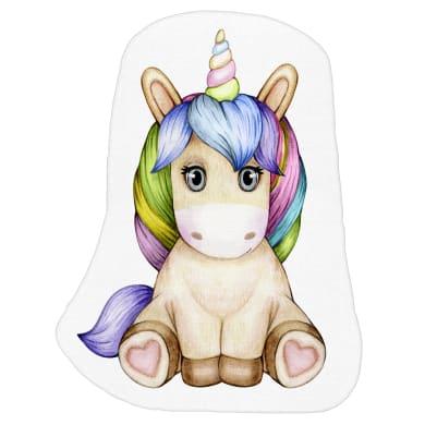 Cuscino INSPIRE Unicornio multicolore 50x60 cm